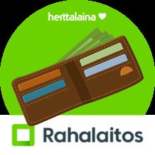 Rahalaitos.fi lainarahat tilillä:
