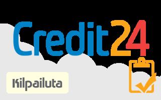 Kilpailuta Credit24 lainat