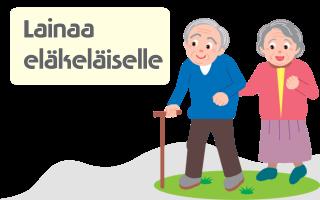Lainaa eläkeläiselle