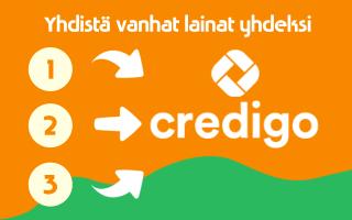 Yhdistä Credigo laina
