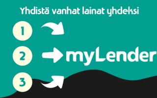 Yhdistä Mylender laina