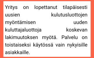 Eurovippi.fi ilmoitus