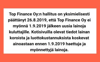 Viikinkilaina.fi ilmoitus